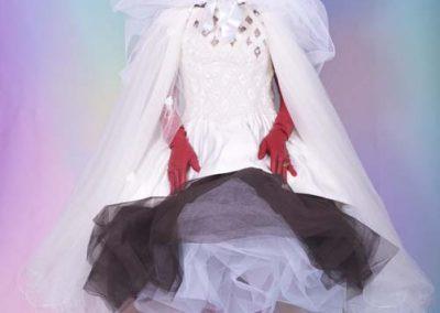 Joan Collins - dream picture in wedding dress